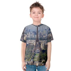 Eiffel Tower 2 Kid s Cotton Tee