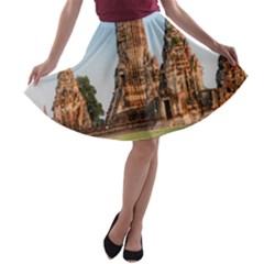 CHAIWATTHANARAM A-line Skater Skirt