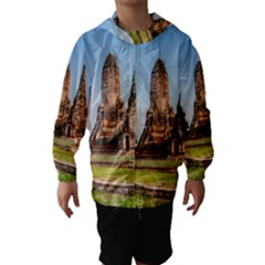 CHAIWATTHANARAM Hooded Wind Breaker (Kids)