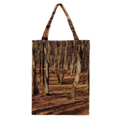 Wood Shadows Classic Tote Bags