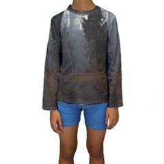 Twilight Road Kid s Long Sleeve Swimwear