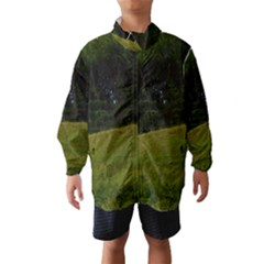 Three Crosses On A Hill Wind Breaker (kids)