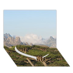 SOCOTRA, YEMEN Heart Bottom 3D Greeting Card (7x5)