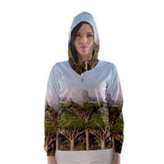 Socotra, Yemen Hooded Wind Breaker (women)