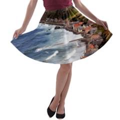 SCOTLAND CROVIE A-line Skater Skirt