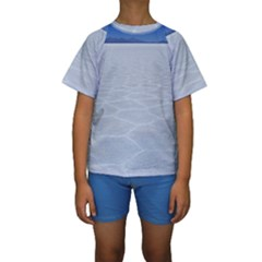 SALT FLATS Kid s Short Sleeve Swimwear