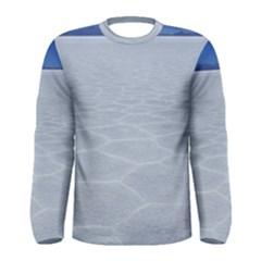 Salt Flats Men s Long Sleeve T Shirts