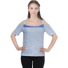 SALT FLATS Women s Cutout Shoulder Tee