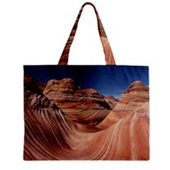 Petrified Sand Dunes Tiny Tote Bags
