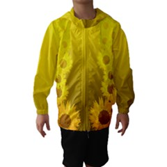 Sunflower Hooded Wind Breaker (kids)