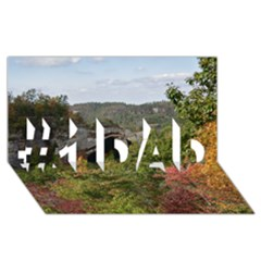 Natural Arch #1 Dad 3d Greeting Card (8x4)