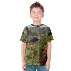 NATURAL ARCH Kid s Cotton Tee