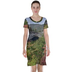 Natural Arch Short Sleeve Nightdresses