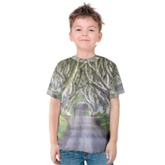 DARK HEDGES, IRELAND Kid s Cotton Tee