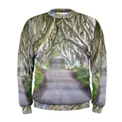 Dark Hedges, Ireland Men s Sweatshirts