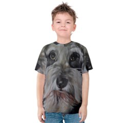 The Schnauzer Kid s Cotton Tee