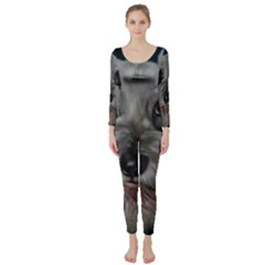 The Schnauzer Long Sleeve Catsuit