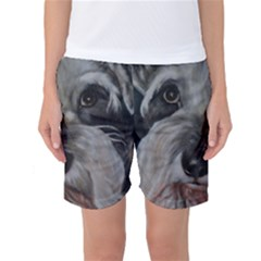 The Schnauzer Women s Basketball Shorts