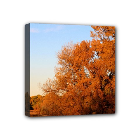 BEAUTIFUL AUTUMN DAY Mini Canvas 4  x 4