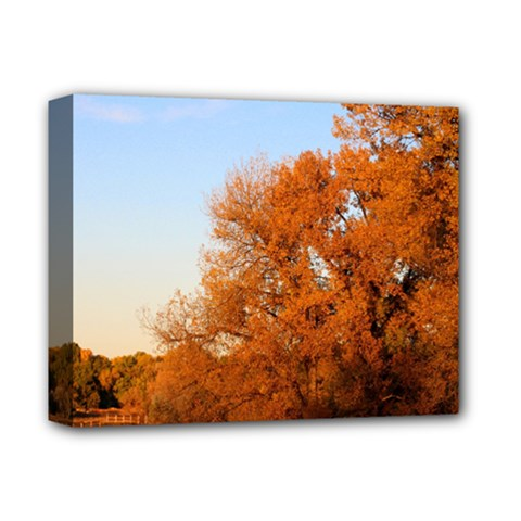 BEAUTIFUL AUTUMN DAY Deluxe Canvas 14  x 11