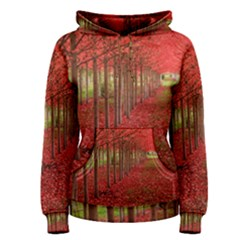 AVENUE OF TREES Women s Pullover Hoodies