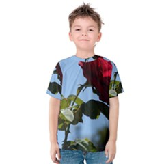 RED ROSE 2 Kid s Cotton Tee