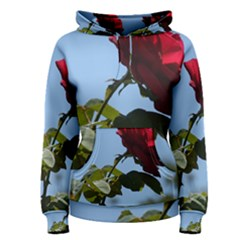 RED ROSE 2 Women s Pullover Hoodies