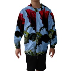 Red Rose 2 Hooded Wind Breaker (kids)