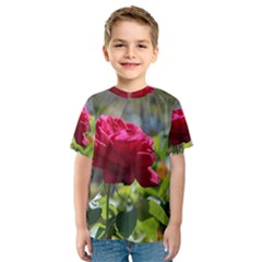 RED ROSE 1 Kid s Sport Mesh Tees