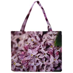 PURPLE LILACS Tiny Tote Bags