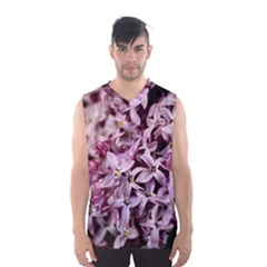 PURPLE LILACS Men s Basketball Tank Top