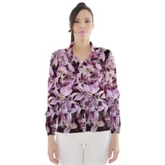 PURPLE LILACS Wind Breaker (Women)