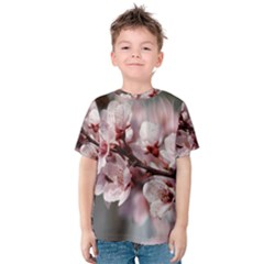 PLUM BLOSSOMS Kid s Cotton Tee