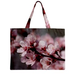 PLUM BLOSSOMS Tiny Tote Bags