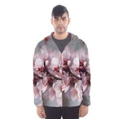 PLUM BLOSSOMS Hooded Wind Breaker (Men)