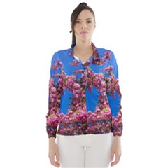 PINK FLOWERS Wind Breaker (Women)