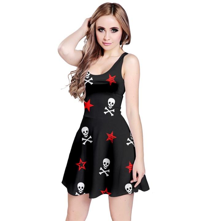 Stars, Skulls & Crossbones Reversible Sleeveless Dresses
