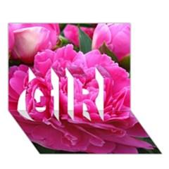 PAEONIA ELEANOR GIRL 3D Greeting Card (7x5)