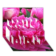 PAEONIA ELEANOR You Did It 3D Greeting Card (7x5)