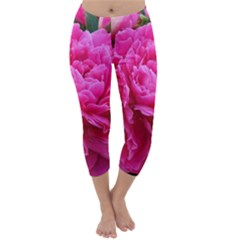 PAEONIA ELEANOR Capri Winter Leggings