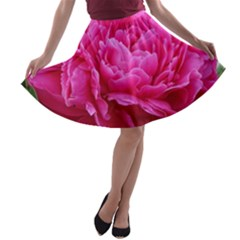 PAEONIA ELEANOR A-line Skater Skirt
