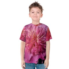PAEONIA CORAL Kid s Cotton Tee