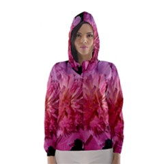 Paeonia Coral Hooded Wind Breaker (women)