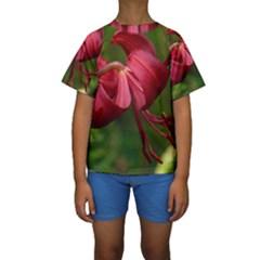 LILIUM RED VELVET Kid s Short Sleeve Swimwear