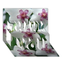HOYABELLA THANK YOU 3D Greeting Card (7x5)