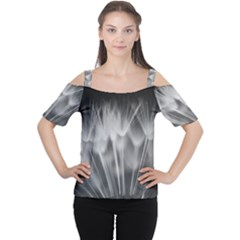 DANDELION Women s Cutout Shoulder Tee