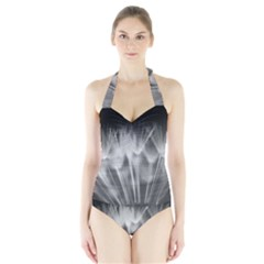 Dandelion Women s Halter One Piece Swimsuit