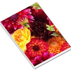 BUNCH OF FLOWERS Large Memo Pads