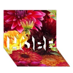 BUNCH OF FLOWERS HOPE 3D Greeting Card (7x5)