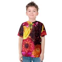 Bunch Of Flowers Kid s Cotton Tee